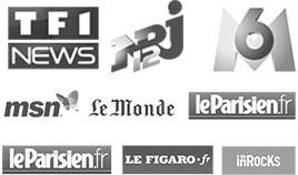 TF1, NRJ12, M6, MSN, Le monde, leParisien, le Figaro ils parlent des plans cul sur internet et plus précisement de sexe-rencontre.fr