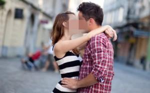 femme qui a envie detre embrassee